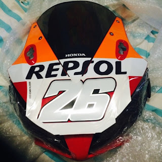 CBR1000RR Dani Pedrosa Decal Official Honda 26