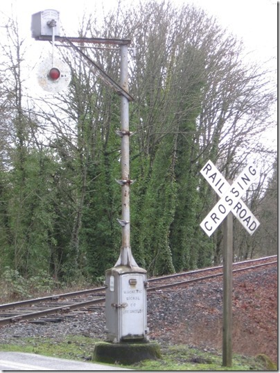 IMG_0685 Magnetic Flagman (Wig-Wag) Signal at Berlin Road in Lebanon, Oregon on January 18, 2006