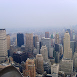 view from the rockefeller center in New York City, New York, United States