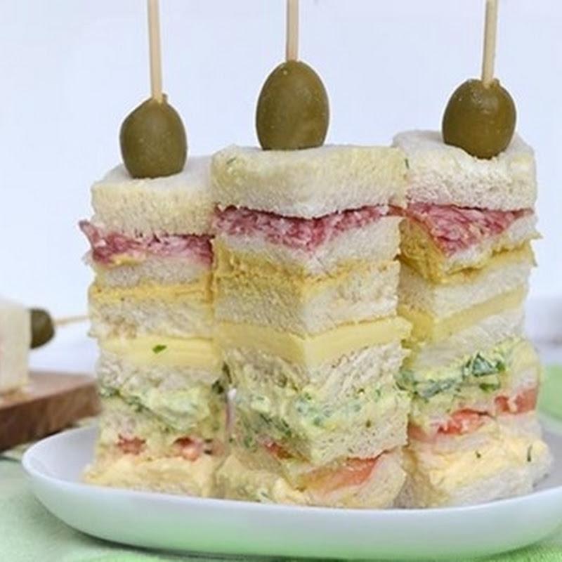 Σουβλάκια σάντουιτς