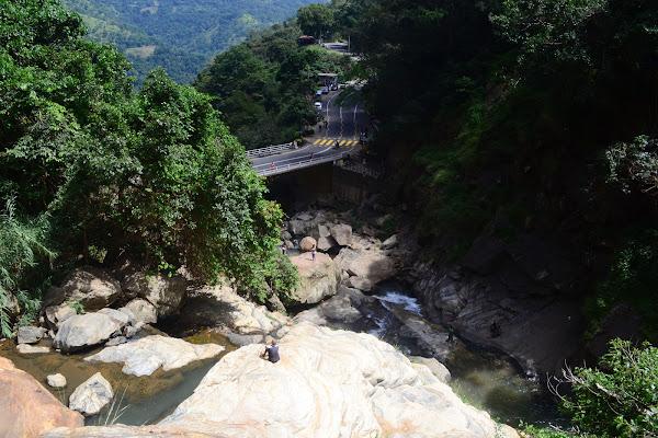 Вид с водопада Равана, Элла, Шри Ланка