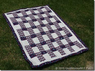 Strip Happy Quilt Pattern
