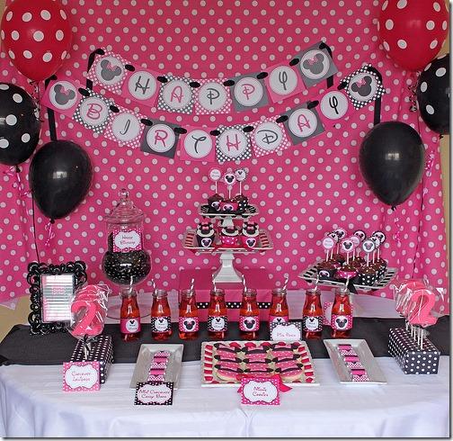 fiesta cumpleaños minnie decoracion (5)