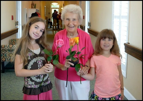 01 - Great Grandmom, Emily and Samantha