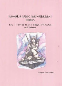 Cover of Ragner Storyteller's Book How To Invoke Freya Valkries for Protection and Defence