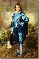 The Blue Boy Thomas Gainsborough