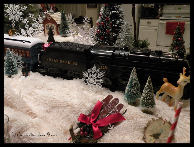 Polar Express Children's Table at Chickadee Home Nest
