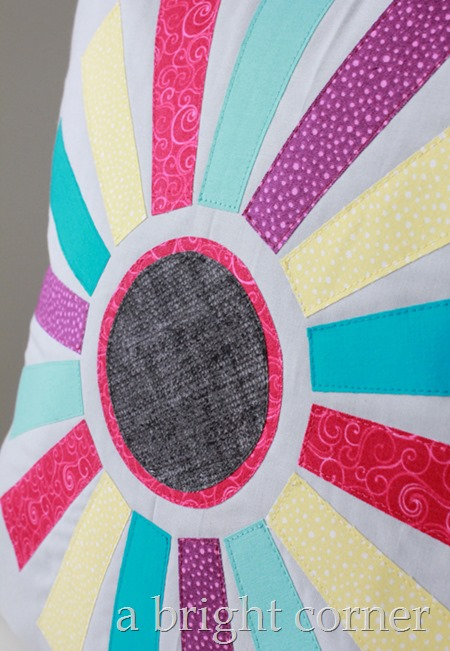 Sunburst Pillow Pattern