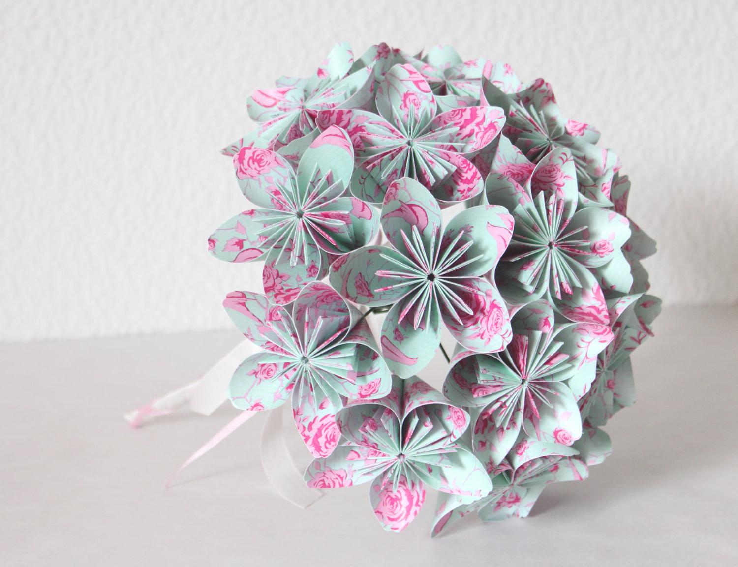 Wedding Origami Paper Flower