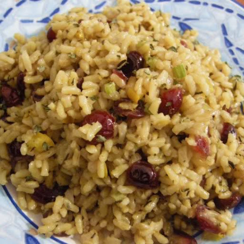 Cranberry Brown Rice Stuffing