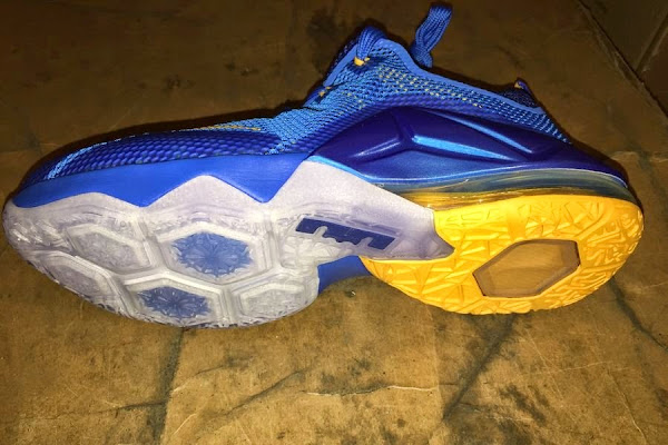 Preview of Upcoming Nike LeBron 12 Low GS 8220Entourage8221