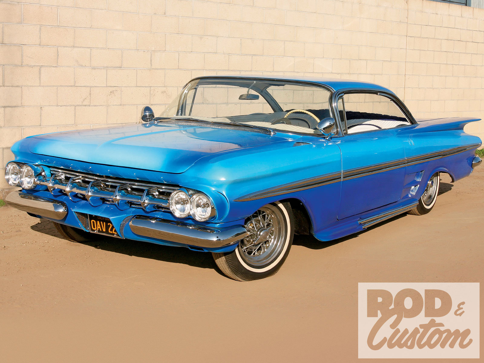 1959 Chevy Impala Front Left