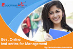 Best online test series for Management