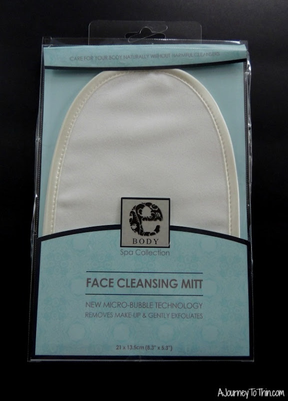 face cleaning mitt