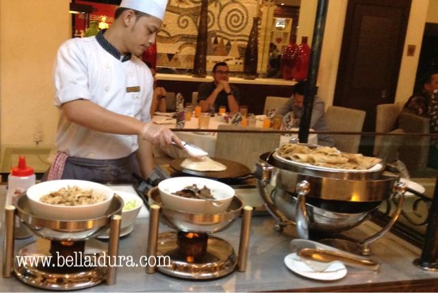 Buffet makanan Indonesia