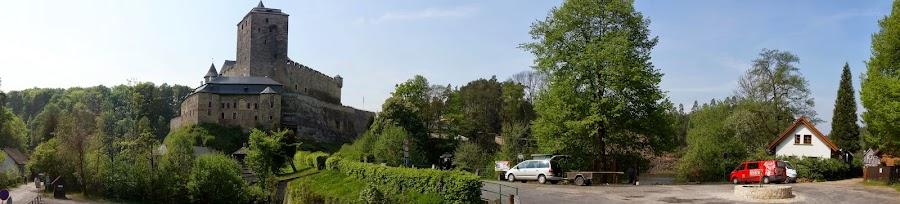 Панорама крепости Кост