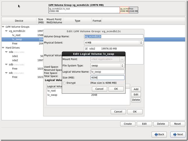 Install OS Screen 21