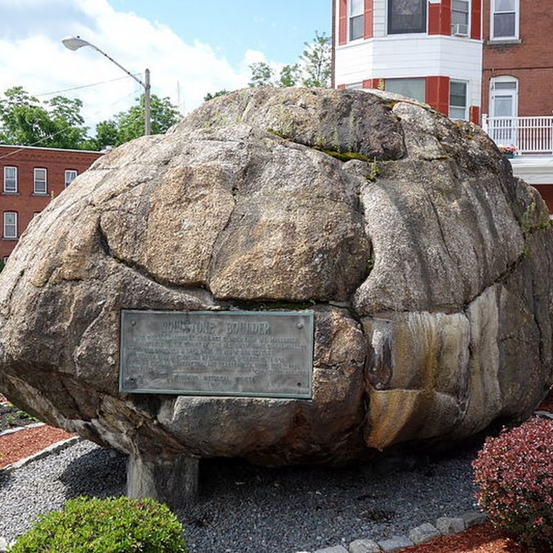Rollstone Boulder: A Rock That Was Exploded in Order to Preserve