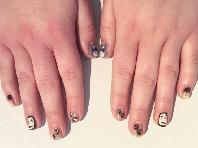 The super cuteness of studio ghibli nail art prinsesfo Gallery