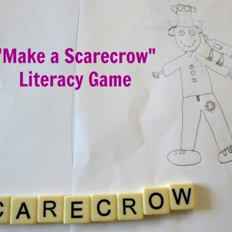 """Make a Scarecrow"" Literacy Game"
