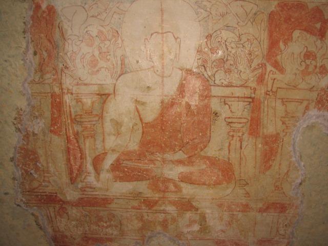 Kanheri-cave-34-buddha-painting