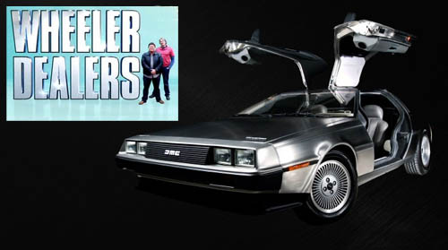 Fani czterech k�ek DeLorean / Wheeler Dealers DeLorean (2011) PL.DVBRip.XviD / Lektor PL