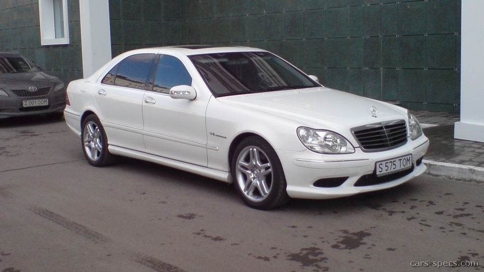 2001 mercedes benz s class s55 amg specifications for Mercedes benz s class 2001