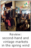 review of second-hand and vintage markets in the spring wind