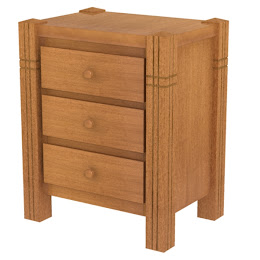 Phoenix Nightstand with Drawers