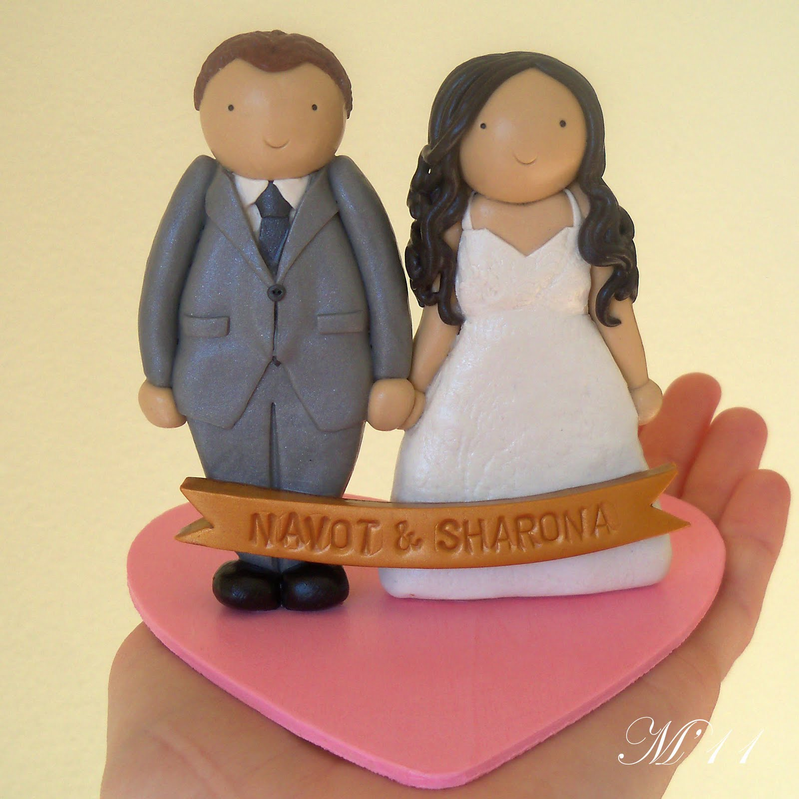 Custom Bride and Groom Wedding