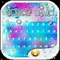 App Color Rain Emoji Keyboards APK for Kindle