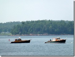Boats on Somes Sound