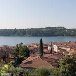 Blick auf die Dächer von der Villa Patrizia aus / Вид на городские крыши из Виллы Патриция