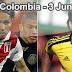 Perú vs. Colombia en VIVO - 3 Junio 2012
