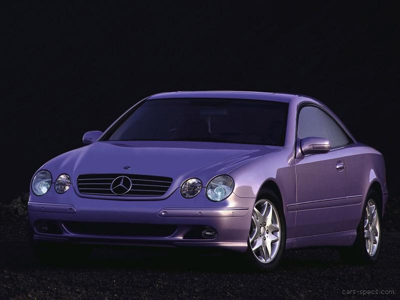 2004 mercedes benz cl class coupe specifications pictures for 2004 mercedes benz cl class