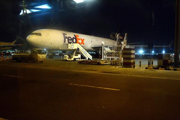 самолет, Fedex, аэропорт