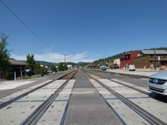 Railroad Tracks, Downtown Truckee