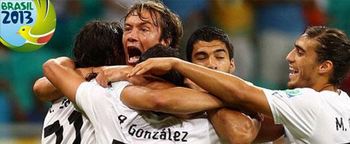 Uruguay vs Tahití en Vivo - Copa Confederaciones 2013