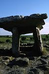 Poulnabrone Dolmen, The Burren, Southern Ireland.