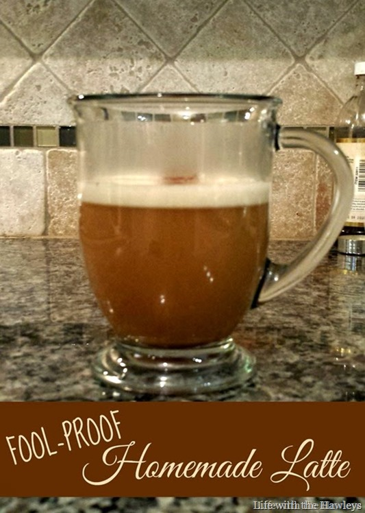Fool Proof Homemade Latte