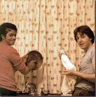 MJackson e McCartney