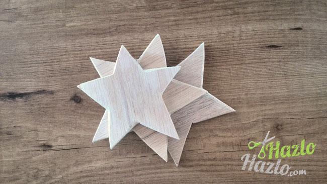 Hacer posavasos madera