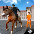 Prison Escape Police Horse Sim APK for Bluestacks