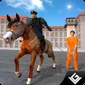 Prison Escape Police Horse Sim APK for Bluestacks