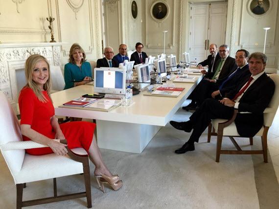 Los nuevos consejeros de la Comunidad de Madrid - junio 2015