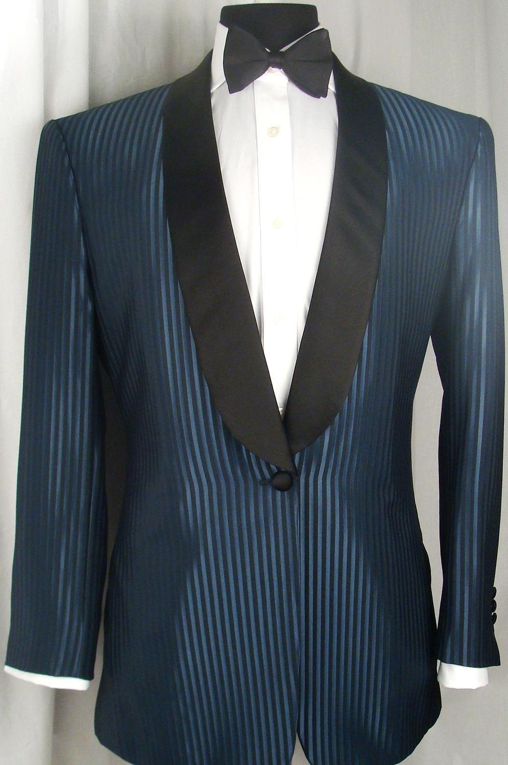 When wearing a tuxedo,