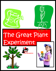 Great Plant Experiment for intermediate age students from Raki's Rad Resources.