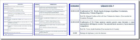 Programa Provisional 5º Congreso Mundial del Deporte Escolar, Educación Física y Psicomotricidad A Coruña 5-7 Noviembre 2015.