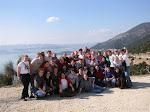 Die Gruppe über Ioannina