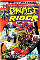 Actualizacion 18/05/2015: Ghost Rider Vol1 - Gracias a Celestial por aportarnos con los numeros 13-16.
